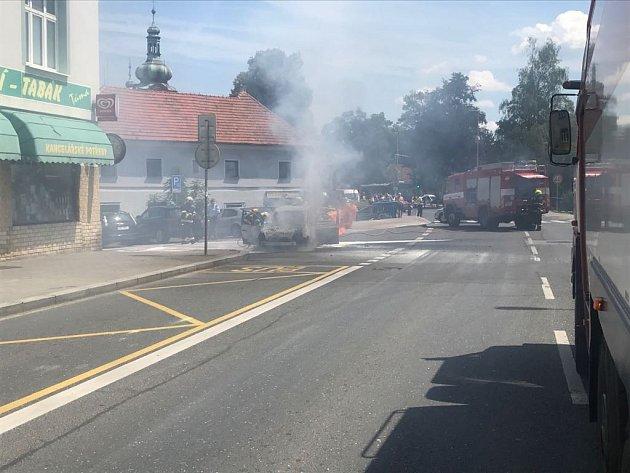 Požár v Uhříněvsi.