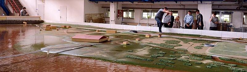 Nová vodní linka čističky na Císařském ostrově