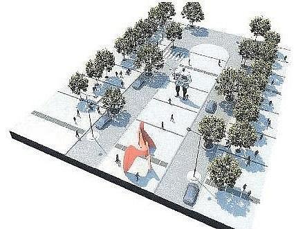 VÁCLAVSKÉ NÁMĚSTÍ by mohlo v budoucnu vypadat docela jinak. Široké chodníky, vzrostlé stromy, moderní městský mobiliář a podzemní garáže. Ale žádné tramvaje.