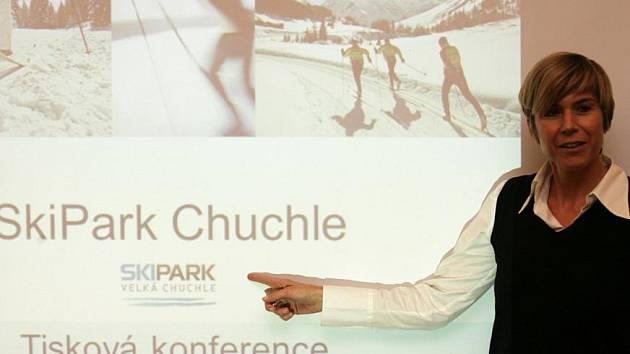 Tisková konference k projektu SkiPark Chuchle.