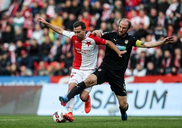 19. kolo e-Pojistěni.cz 1.ligy mezi SK Slavia Praha a FC Viktoria Plzeň.