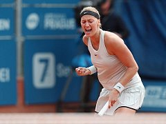 Petra Kvitová postoupila na turnaji WTA ve Stromovce do finále.