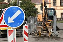 Obyvatelé lokality Na Kopci v Podbořanech by se letos mohli dočkat plynu.