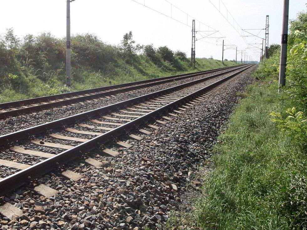 Na kolejích se mohlo stát velké neštěstí. Ilustrační foto.
