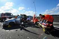 Nehoda na Radotínském mostě