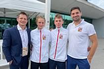 Pražští judisté reprezentovali na evropském juniorském šampionátu.