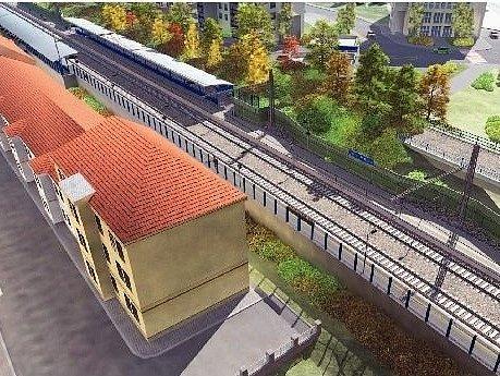 TAKTO BUDE VYPADAT nové nádraží v Podbabě. Stavět se začne už letos.