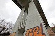 Pilíře Nuselského mostu.