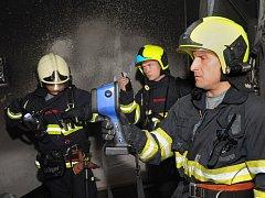 Požár v hotelu na Žižkově.