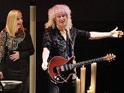 Koncert Brian May & Kerry Ellis v rámci programu One Voice v Kongresovém centru v Praze.