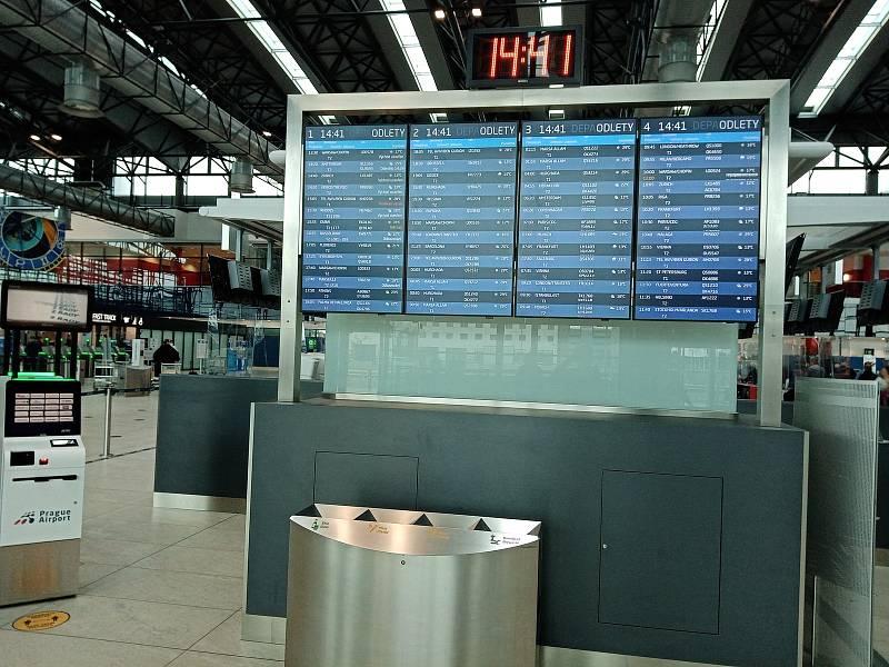 Letiště Václava Havla v Praze: Terminál 1.