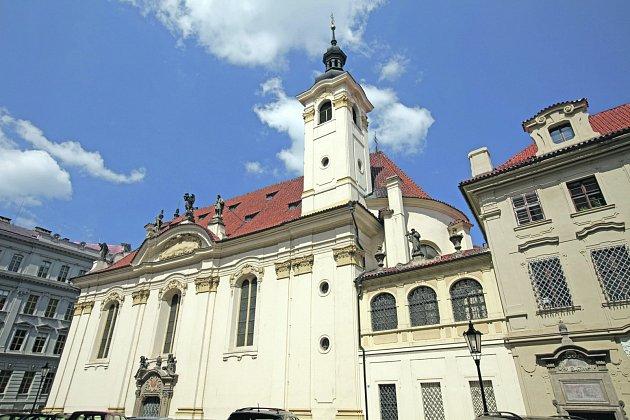 Kostel sv. Šimona a Judy.