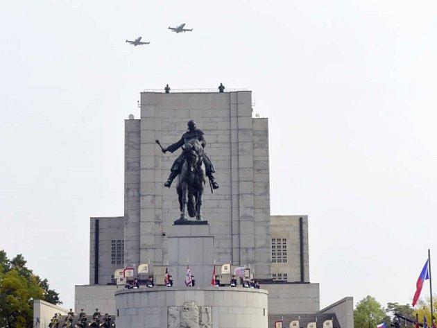Oslavy státního svátku na Vítkově.