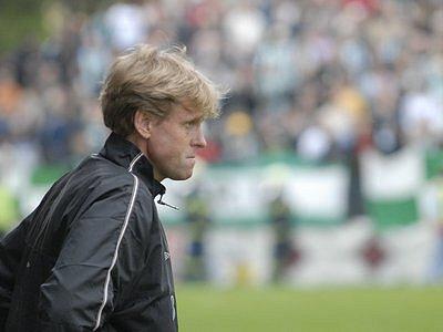 Dnes už bývalý trenér Bohemians 1905 Zbyněk Busta.