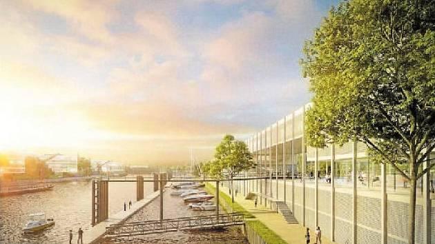 Autorem studie Smíchovského přístavu je architektonický Atelier 8000.