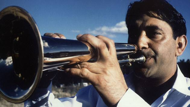 Trumpetista Boban Marković.
