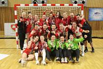 Házenkářky Slavie Praha získaly v sezoně 2020/2021 stříbrné medaile.