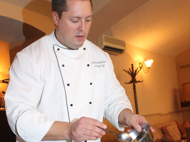 Steven Trumpfheller, majitel a šéfkuchař restaurace U Emy Destinnové