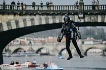 Iron Man v Praze.