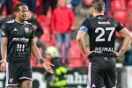 24. kolo FORTUNA:LIGA, SK Slavia Praha - FC Baník Ostrava,10. března 2019 v Praze. Foto: Petr Kotala