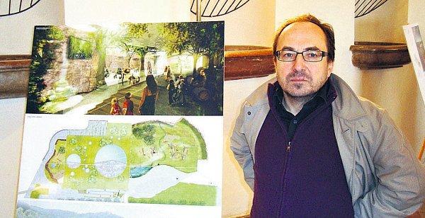 Petr Bouřil, vedoucí vítězného týmu architektů zatelieru ABM Architekti.