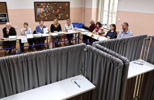 Komunální volby 2018 v Praze - Gymnázium Jana Nerudy.