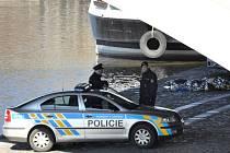 Mrtvé tělo ve vysokém stadiu rozkladu objevil ve čtvrtek 20. března 2014 dopoledne strážník městské policie ve Vltavě v centru Prahy u Jiráskova mostu.