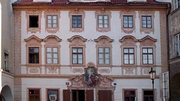 Restaurace U Černého vola v Praze.