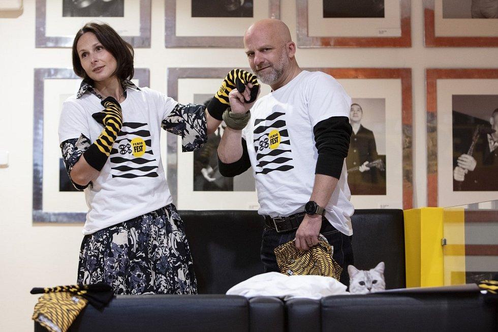 Kampaně na záchranu Febiofestu se účastnily známé tváře. Zdeňka Žádníková a Hynek Čermák.
