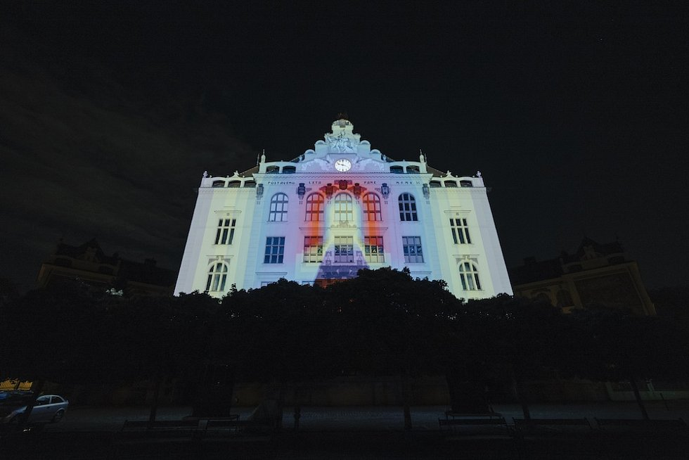 Signal Festival 2019. Lyčkovo náměstí.