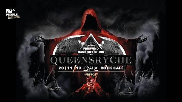 Ikoničtí Queensrÿche se chystají do pražského Rock Café.