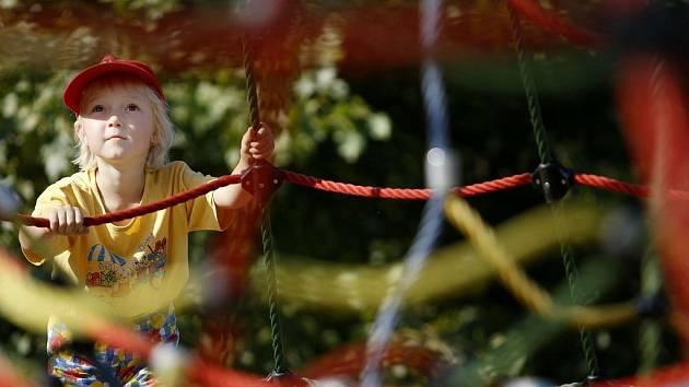 V PŘÍRODĚ. Pražské úřady se ohánějí evropskými předpisy, tam ale lesní školky bez problémů fungují./Ilustrační foto