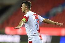 Fotbalista Ondřej Kúdela ze Slavie Praha.