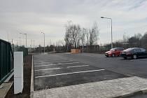 V Běchovicích na P+R parkovišti čeká na řidiče nových 60 parkovacích míst.