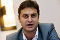 Předseda představenstva hokejové Sparty Praha Petr Bříza.