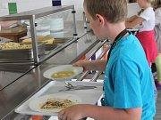 Školní jídelna. Ilustrační foto.