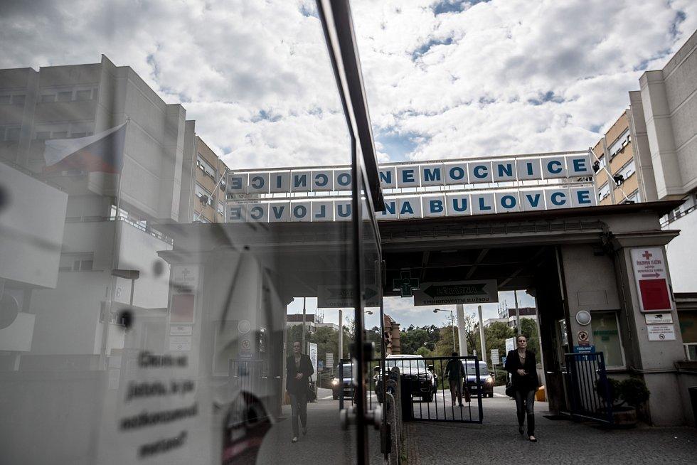 Místa spojená s atentátem na Heydricha, 25. května v Praze. nemocnice Na Bulovce