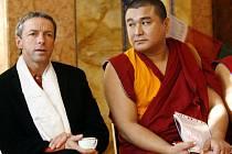 PRAŽSKÝ TIBET. Osm mnichů z tradičního sídla pančenlamy, kláštera Tašilhunpo, přijal primátor Bém.