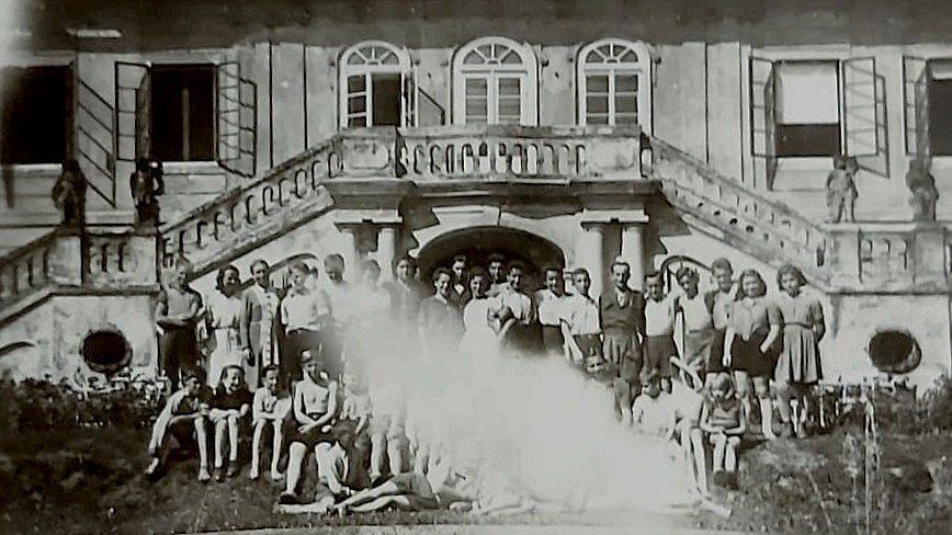 Židovské děti na Štiříně.