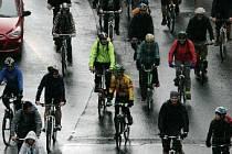Velká jarní cyklojízda 2012 Prahou ve čtvrtek 19.dubna.
