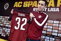 """Fotbalista Josef Šural podepsal s pražskou Spartou smlouvu na tři a půl roku a řekl: """"V Liberci jsem hrál na levém křídle, ale zvládnu kteroukoliv útočnou pozici."""""""