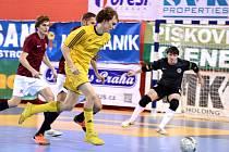 II. zápas čtvrtfinále play off Chance futsal ligy: AC Sparta Praha - Nejzbach Vysoké Mýto, 19. dubna 2016.