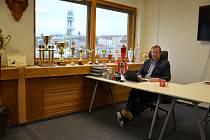 Bývalý hokejista Milan Richter přesedlal ve 40 letech na fotbal. Stal se předsedou Viktorie Žižkov.