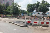 Práce na stavbě Nádraží Praha - Zahradní Město míří do finále.