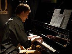 Marek Kettner v soutěži Pianista roku 2016.