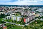 Sídliště Písnice čeká dostavba. Architektonického studio Pavla Hniličky v urbanistické studii má i okolí budoucí stanice metra linky D.