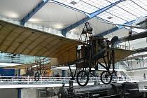 Původní letadlo JK Systém Blériot, jímž letěl ing. Jan Kašpar 13. května 1911 z Pardubic do Prahy.