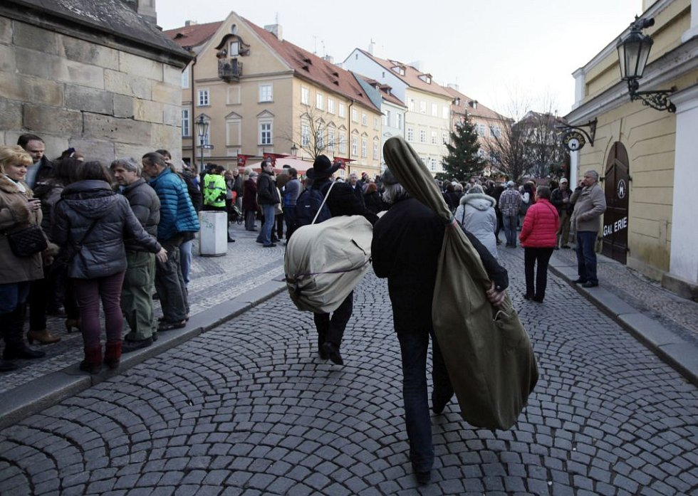 Česká mše vánoční Jakuba Jana Ryby na pražské Kampě