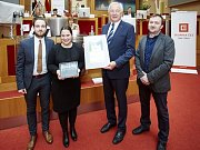 Cenu Město pro byznys převzala radní Jana Solomonová (ANO)