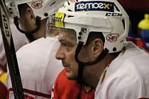 4. kolo baráže o hokejovou extraligu: HC Slavia Praha - HC Olomouc 2:1 (1:0, 0:1, 1:0).